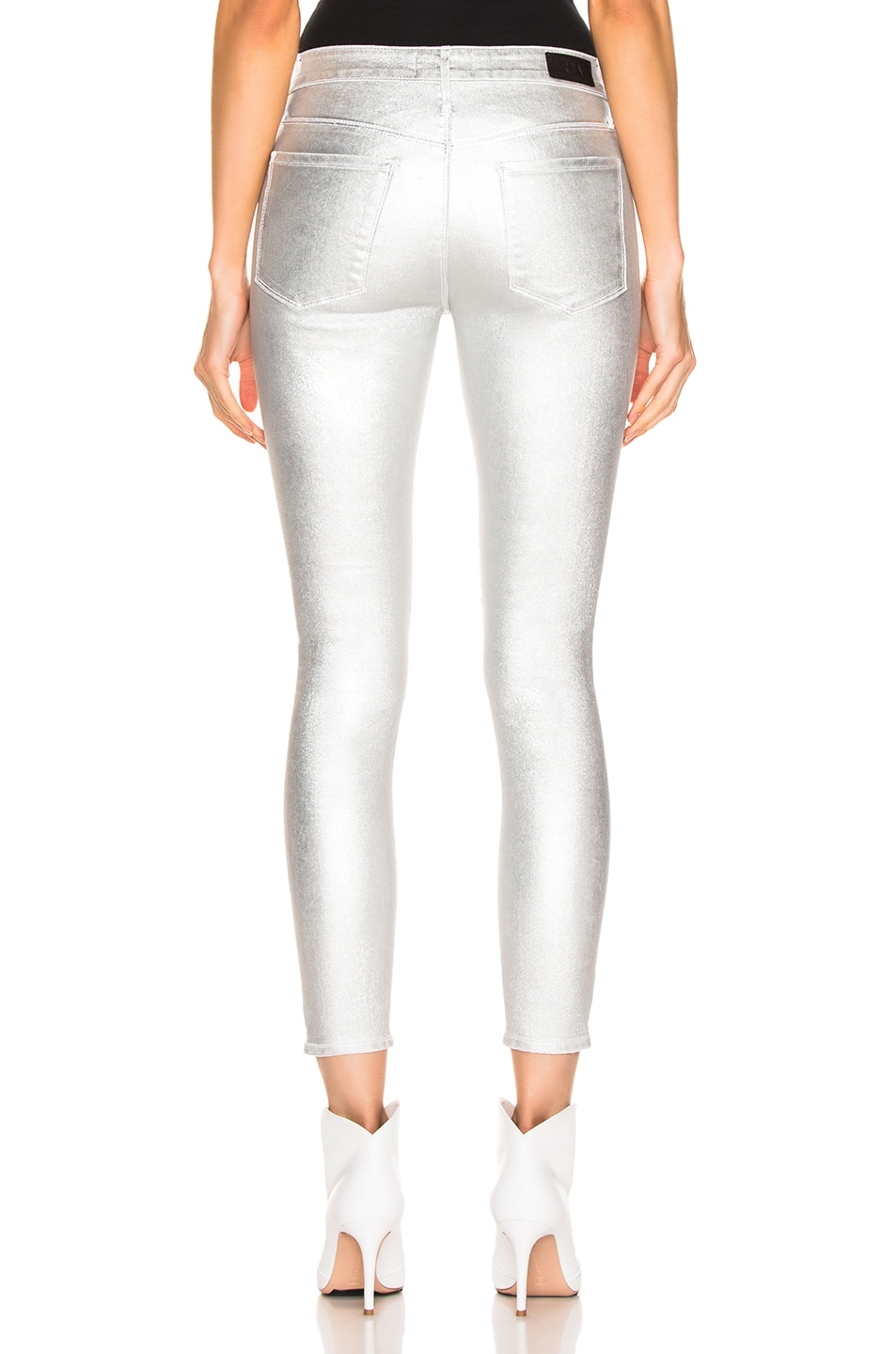 Image 3 of RtA Prince Pants in Sound Silver
