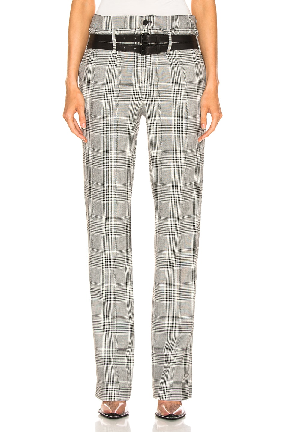 Image 1 of RtA Dillon Pants in Light Plaid