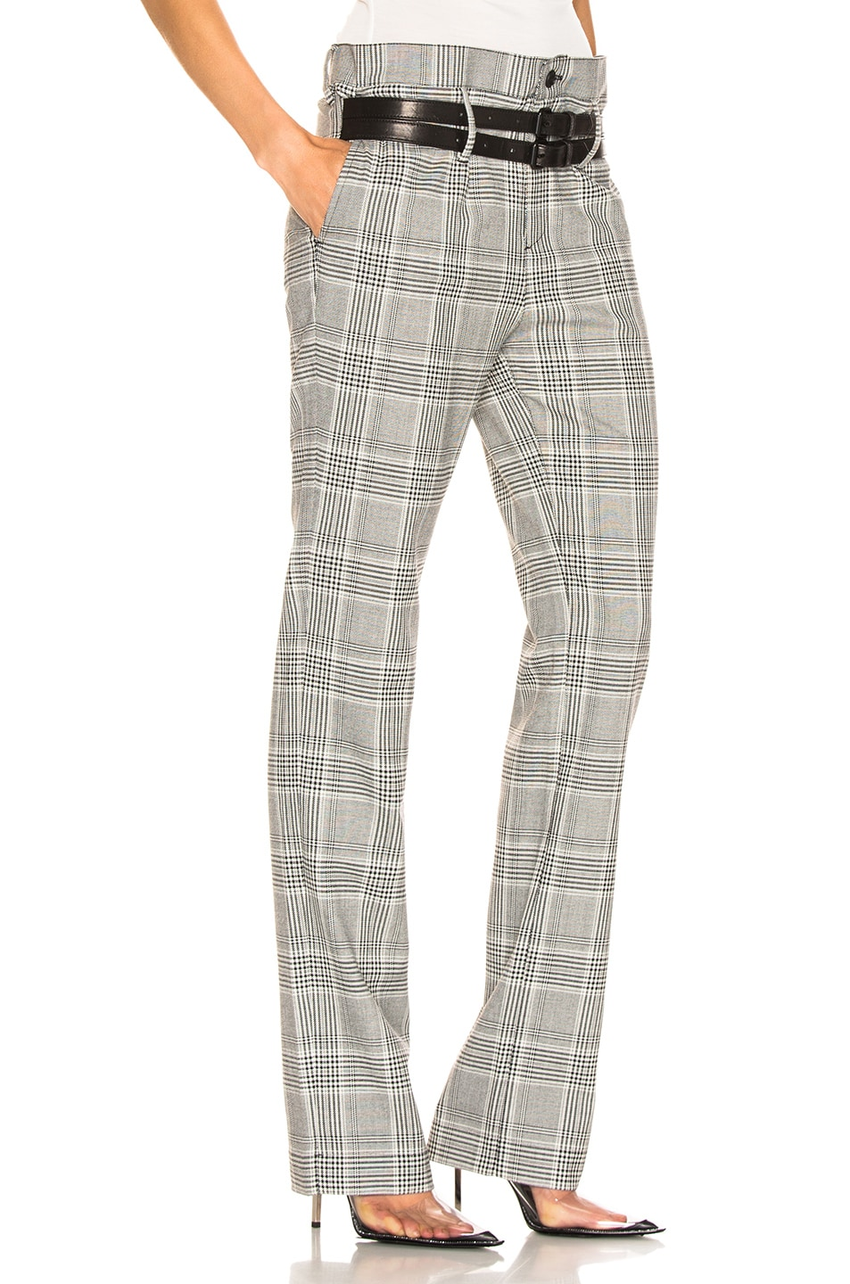 Image 2 of RtA Dillon Pants in Light Plaid