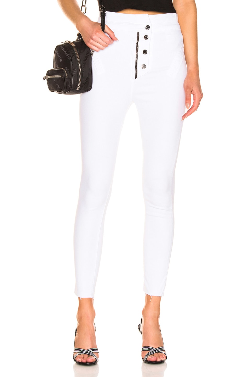 Image 1 of RtA Breeze Pant in Optic White 5