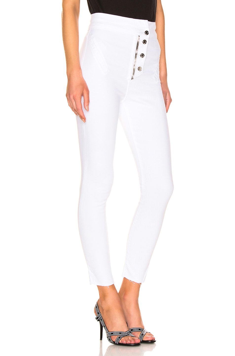 Image 2 of RtA Breeze Pant in Optic White 5