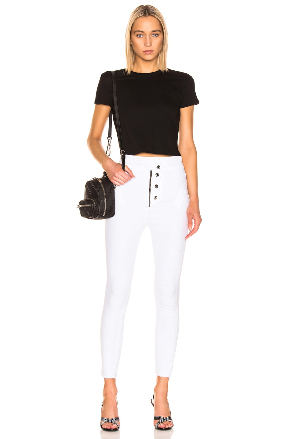 Image 4 of RtA Breeze Pant in Optic White 5