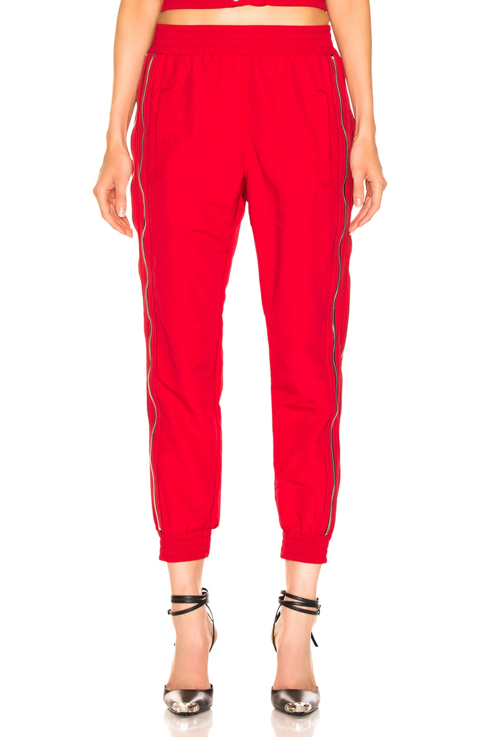 Image 1 of RtA Sporte Pant in Track Red