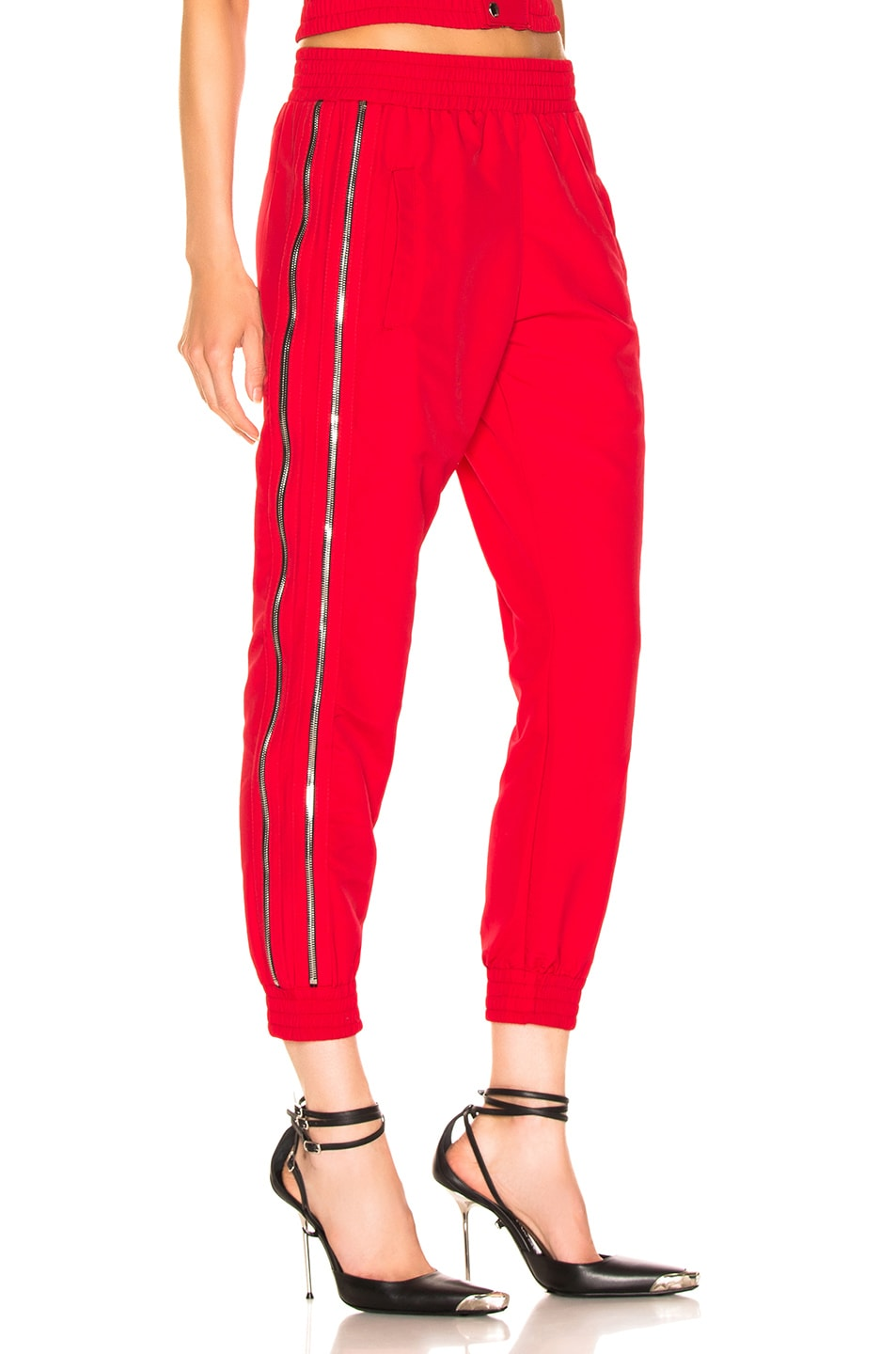 Image 2 of RtA Sporte Pant in Track Red