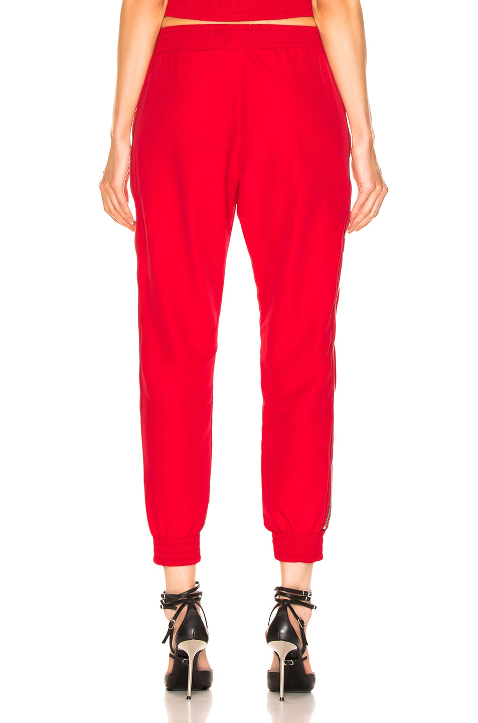 Image 4 of RtA Sporte Pant in Track Red