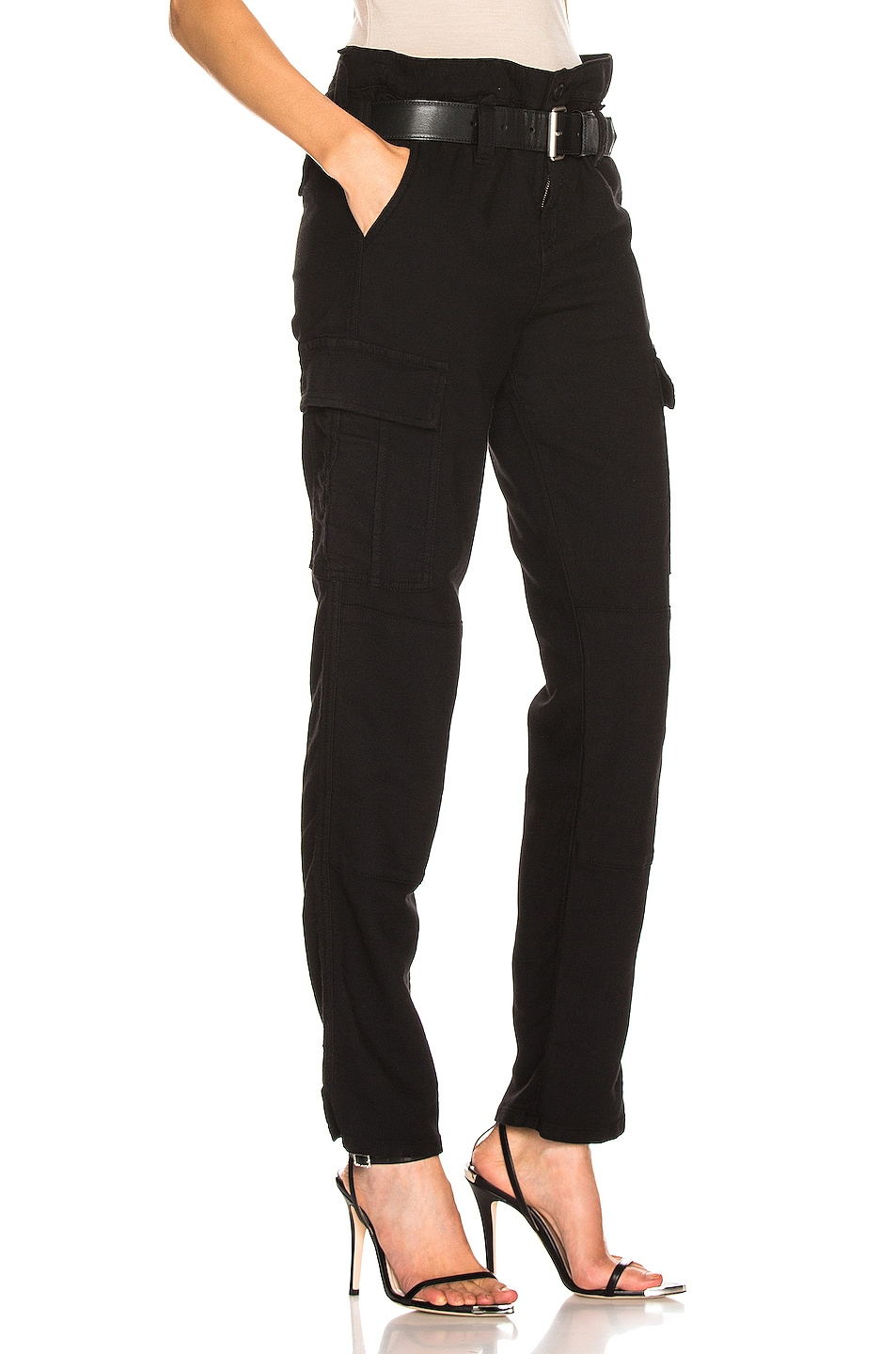 Image 2 of RtA Sallinger Pant in Jet Black 3