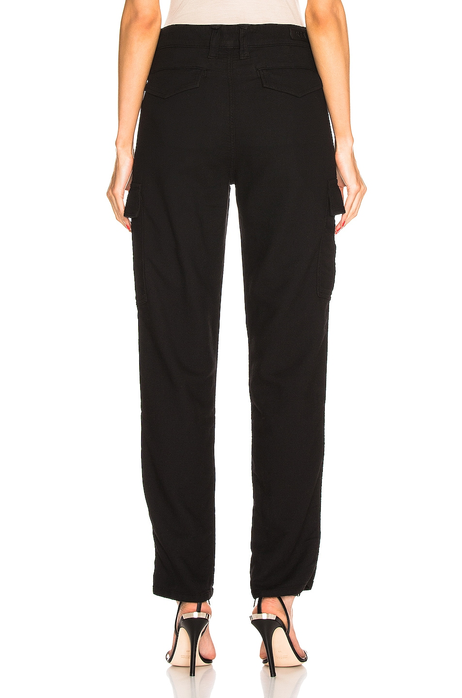 Image 3 of RtA Sallinger Pant in Jet Black 3