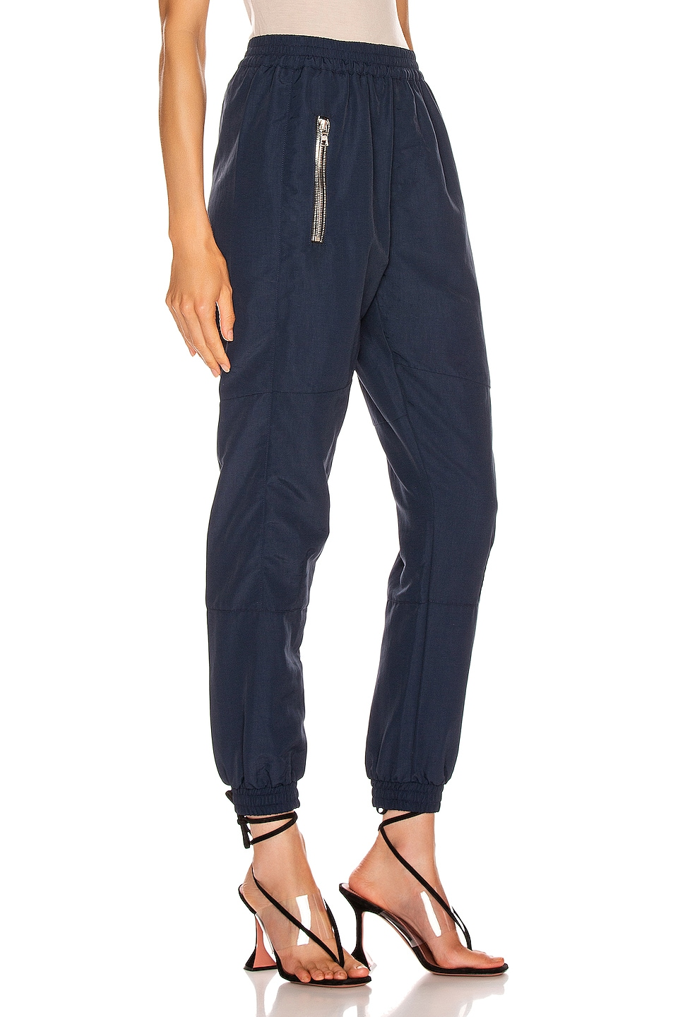 Image 2 of RtA Finn Pant in Track Navy