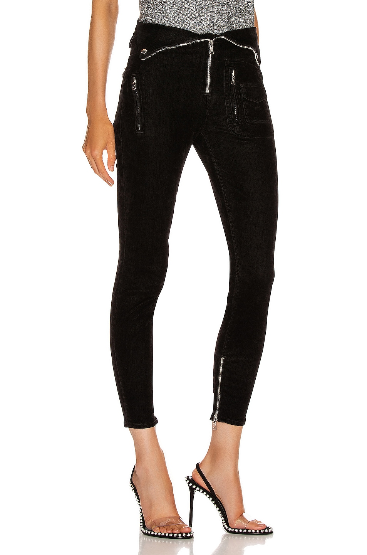 Image 2 of RtA Diavolina Skinny in Black Velvet