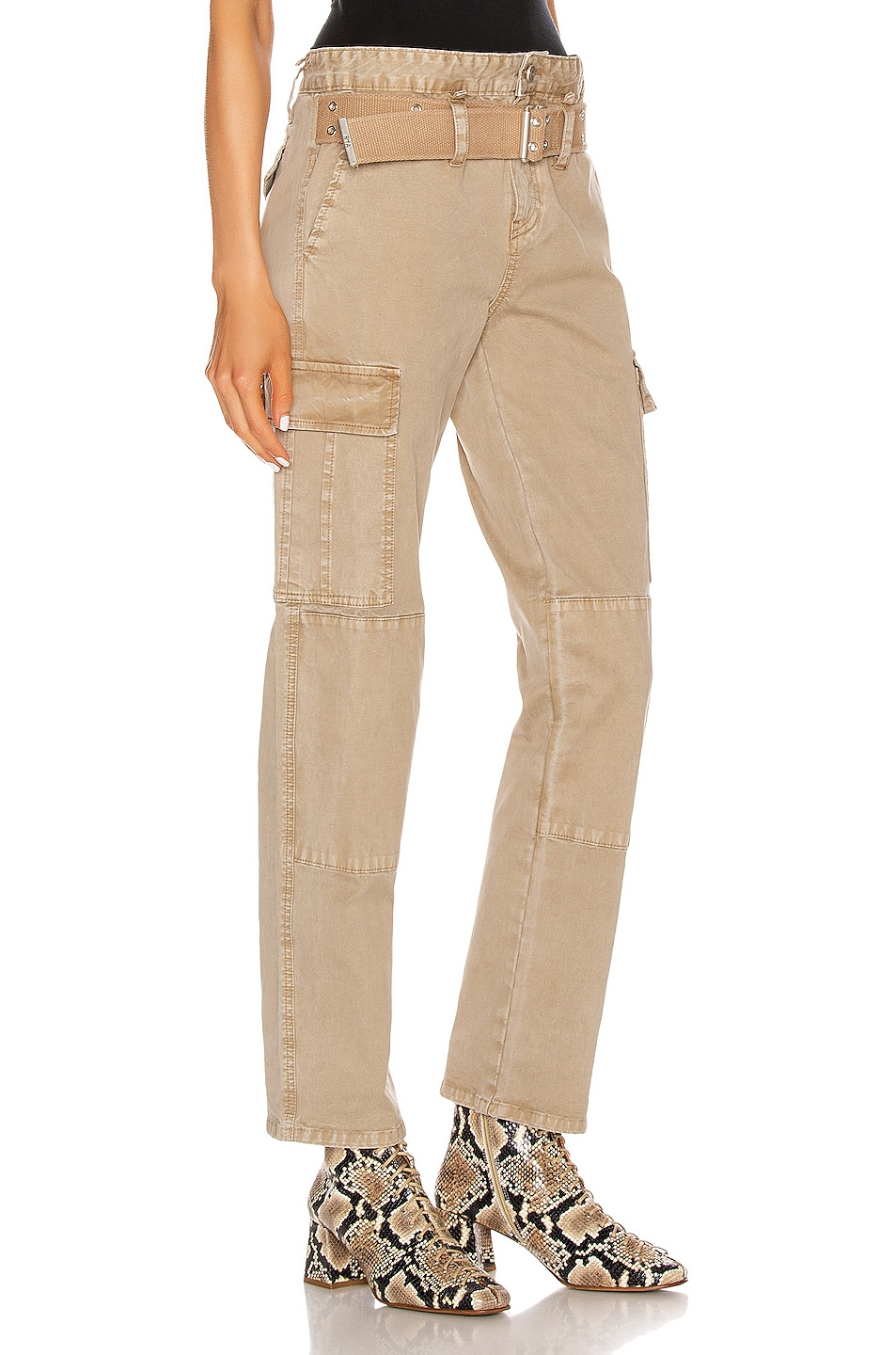 Image 2 of RtA Sallinger Pant in Coyote