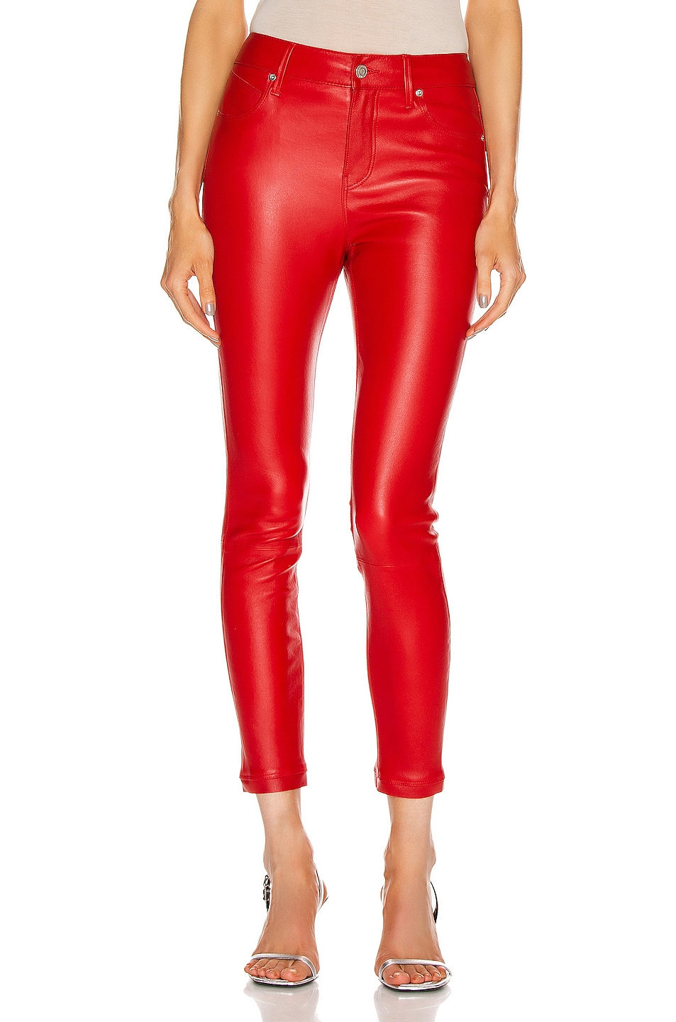 Image 1 of RtA Madrid Skinny Pant in Red Cherry