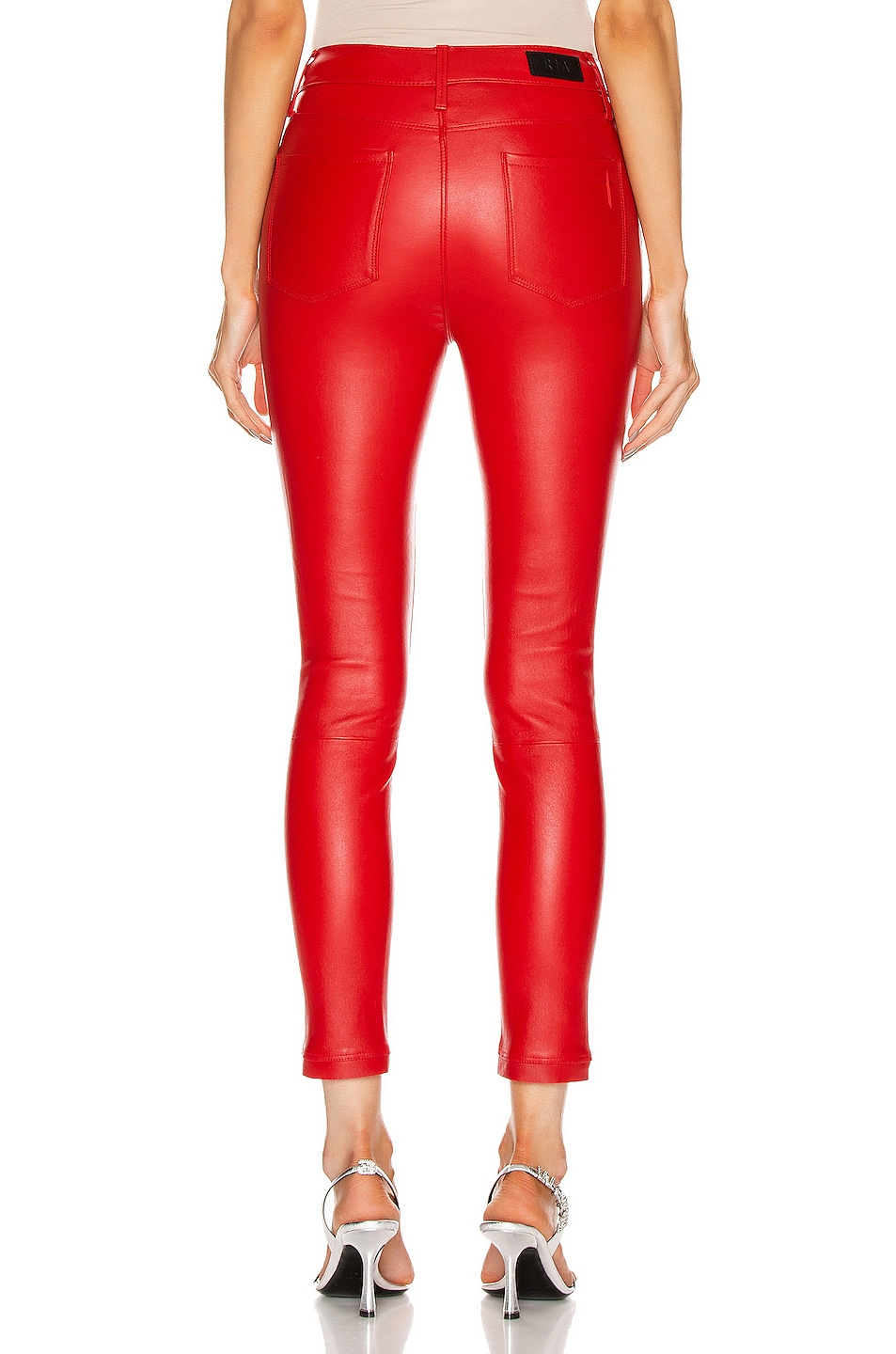 Image 3 of RtA Madrid Skinny Pant in Red Cherry