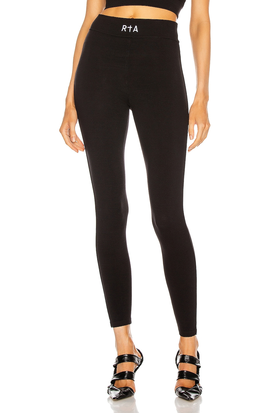 Image 1 of RtA Sibille Pant in Black