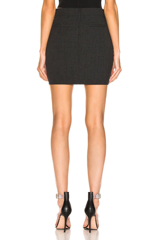 Image 3 of RtA Marlin Skirt in Shadow Plaid