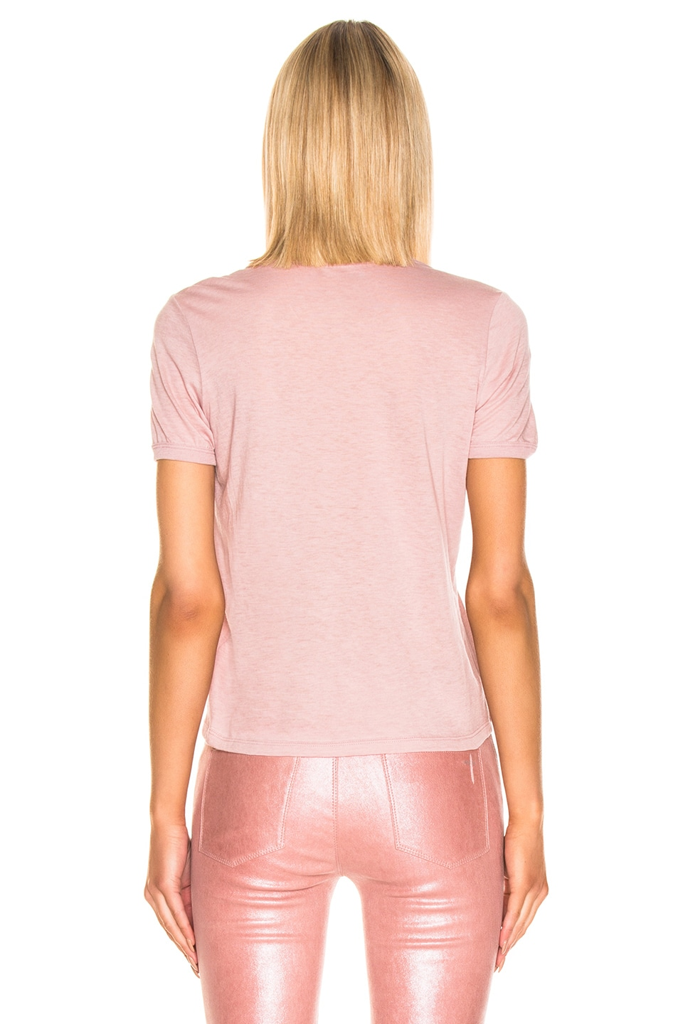 Image 3 of RtA Quinton Tee in Blush
