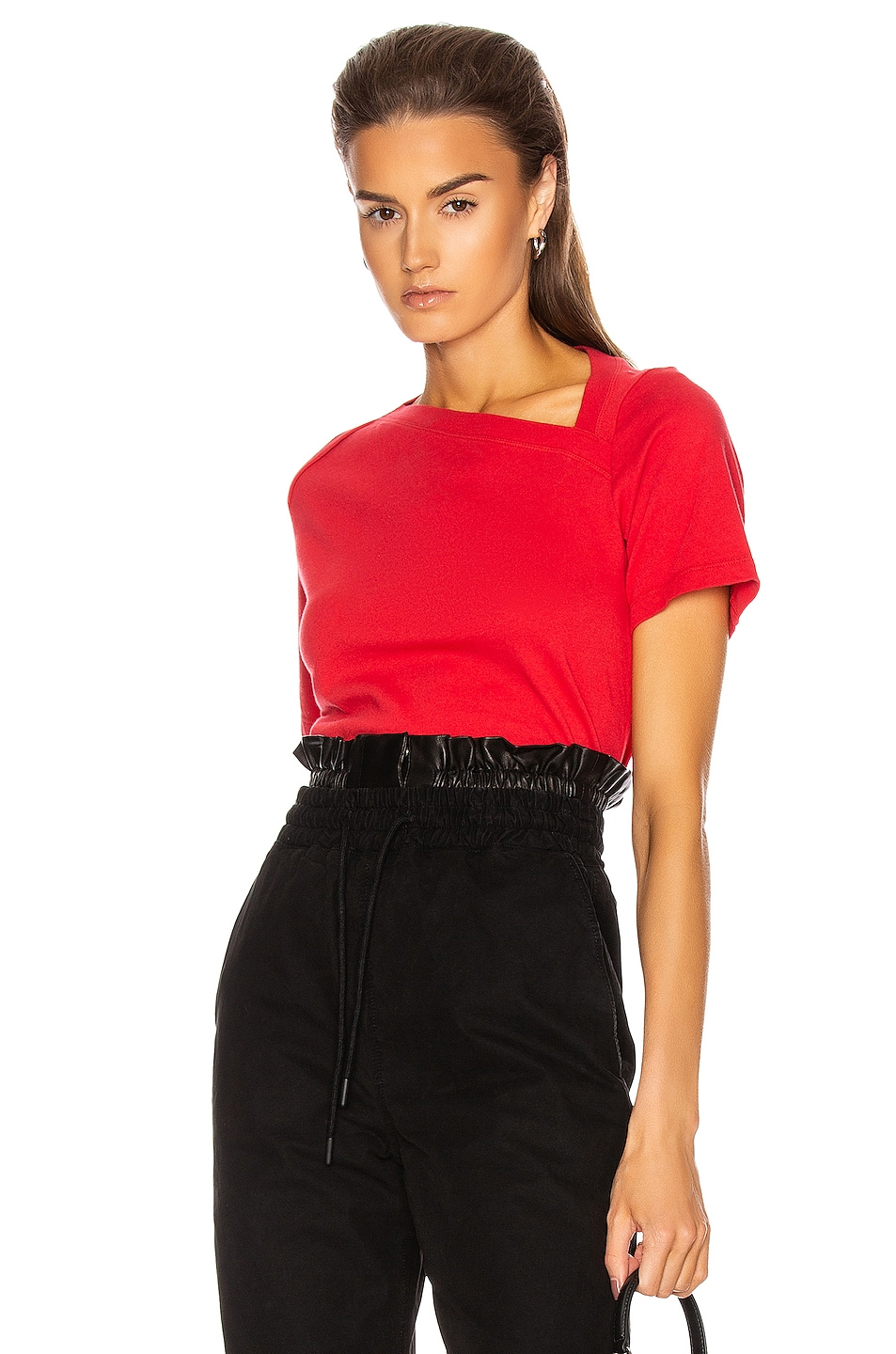 Image 1 of RtA Zoey Tee in Flame Red