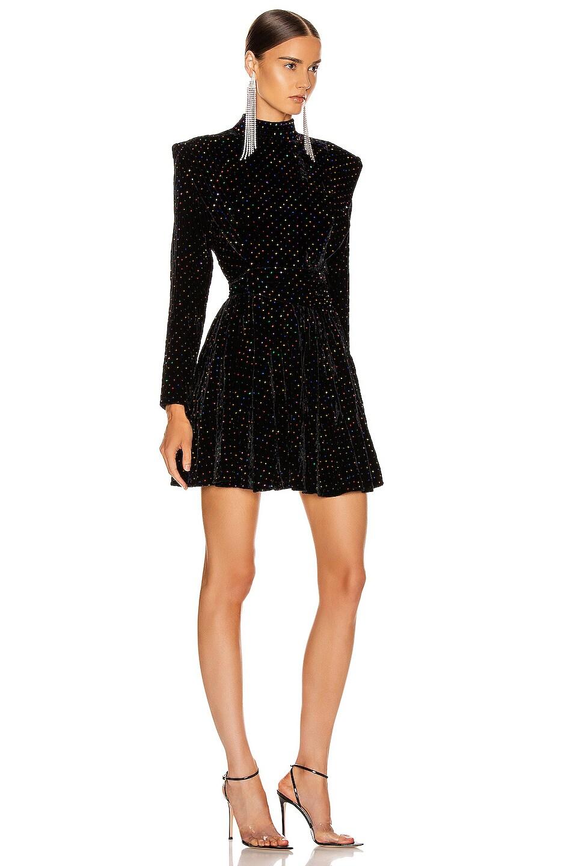 Image 2 of retrofete Francesca Dress in Black Multi