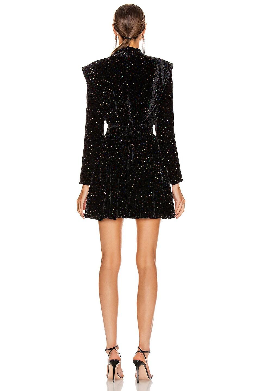Image 3 of retrofete Francesca Dress in Black Multi