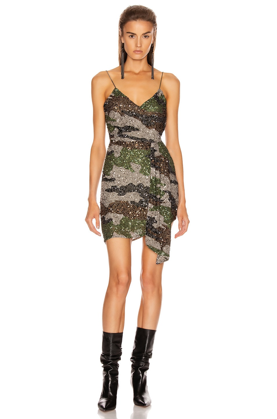 Image 1 of retrofete Karin Dress in Camo
