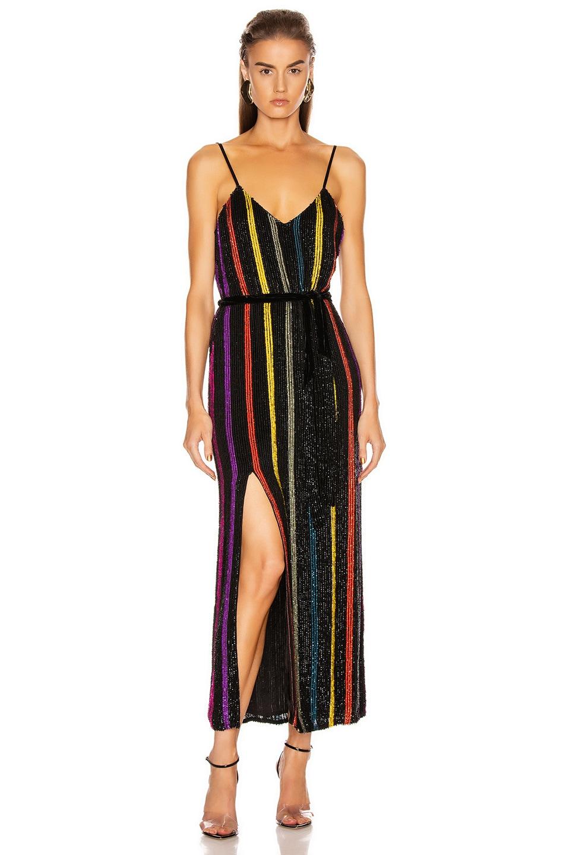 Image 1 of retrofete Rebecca Dress in Multicolor