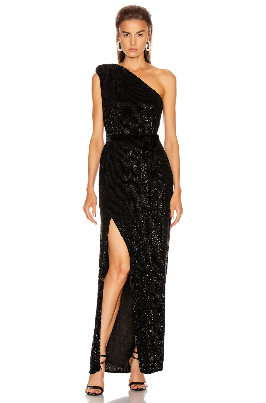 Image 1 of retrofete Vivien Dress in Black