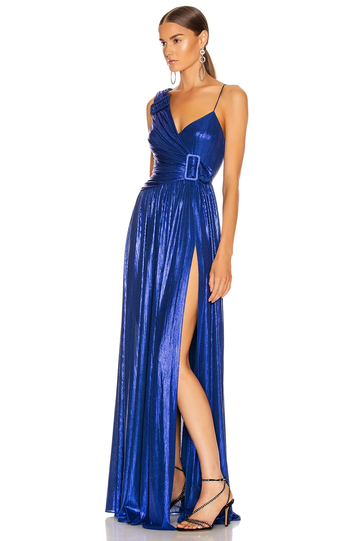 Image 3 of retrofete Natalie Dress in Royal Blue