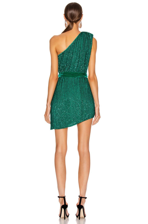 Image 4 of retrofete Ella Dress in Emerald Green