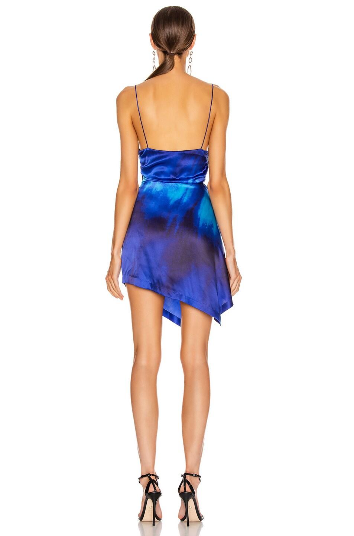 Image 4 of retrofete for FWRD Auris Dress in Tie Dye