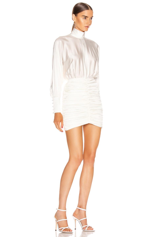 Image 2 of retrofete Barbara Dress in White