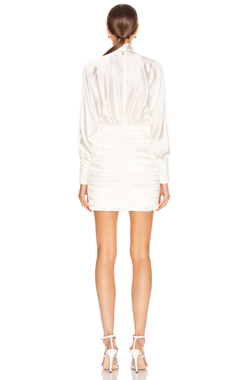 Image 3 of retrofete Barbara Dress in White