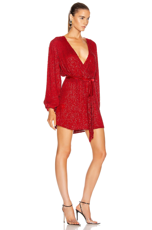 Image 2 of retrofete Julie Dress in Scarlet