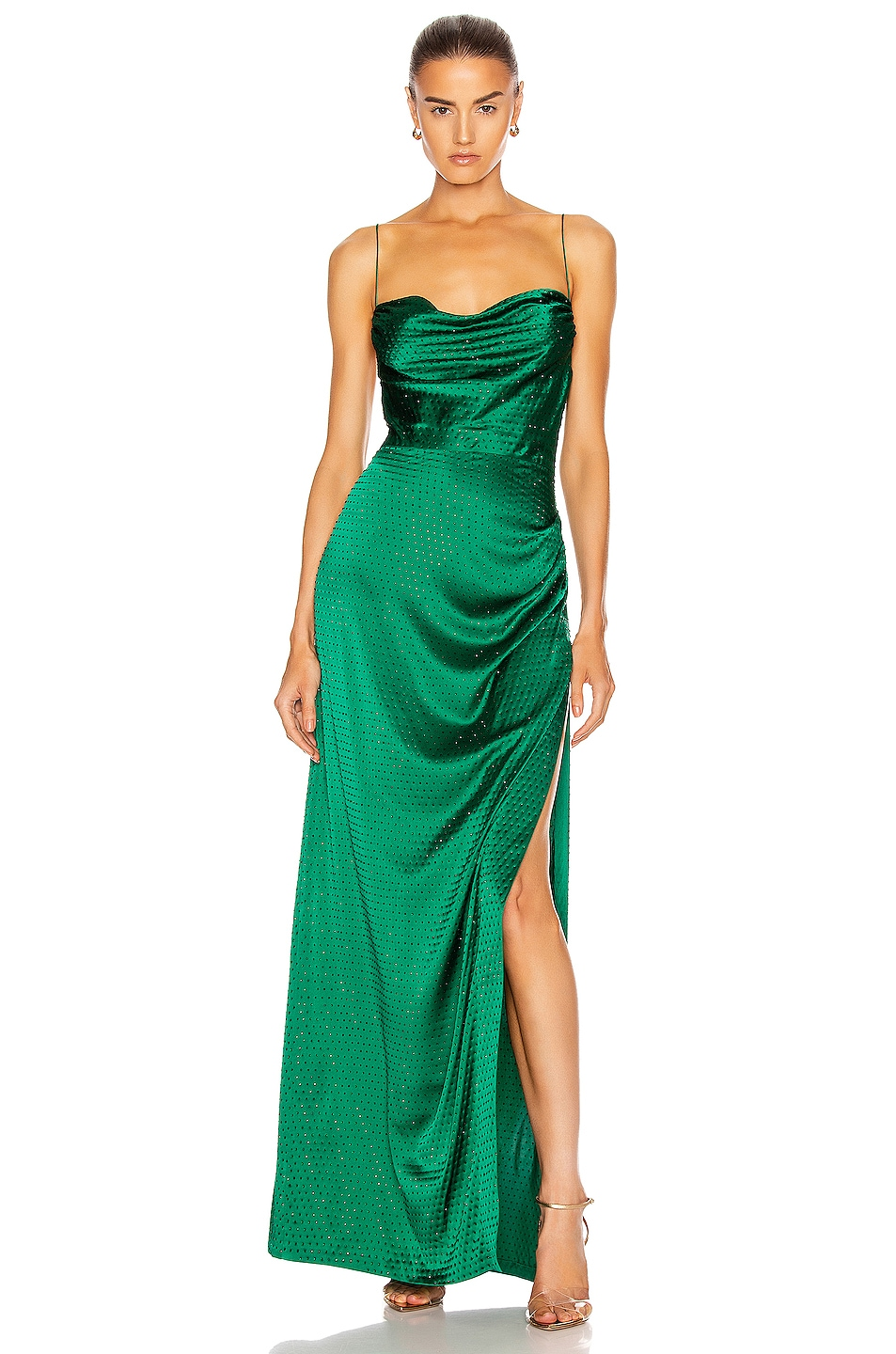 Image 1 of retrofete Marlene Dress in Green