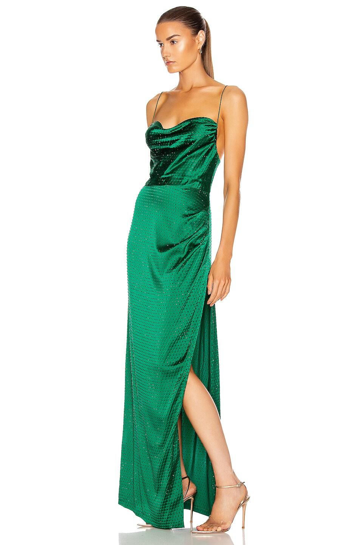 Image 3 of retrofete Marlene Dress in Green