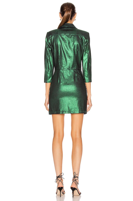 Image 3 of retrofete Willa Dress in Green