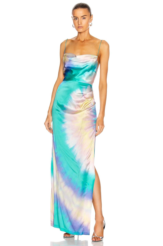 Image 1 of retrofete Marlene Dress in Multi Tie Dye