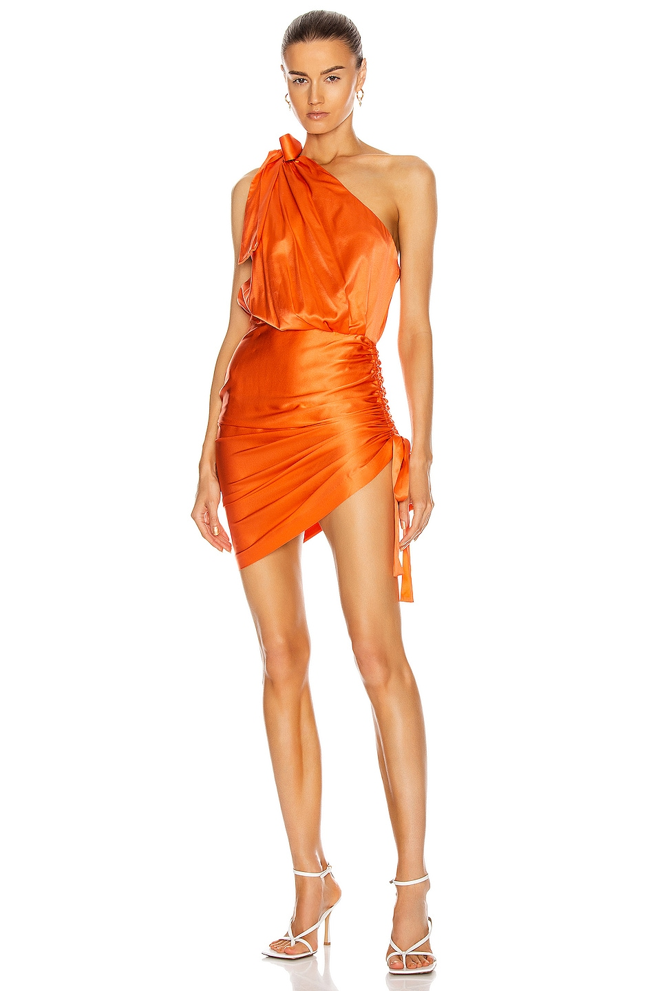 Image 1 of retrofete Nadia Dress in Orange