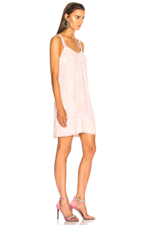 Image 3 of retrofete for FWRD Dara Dress in Baby Pink