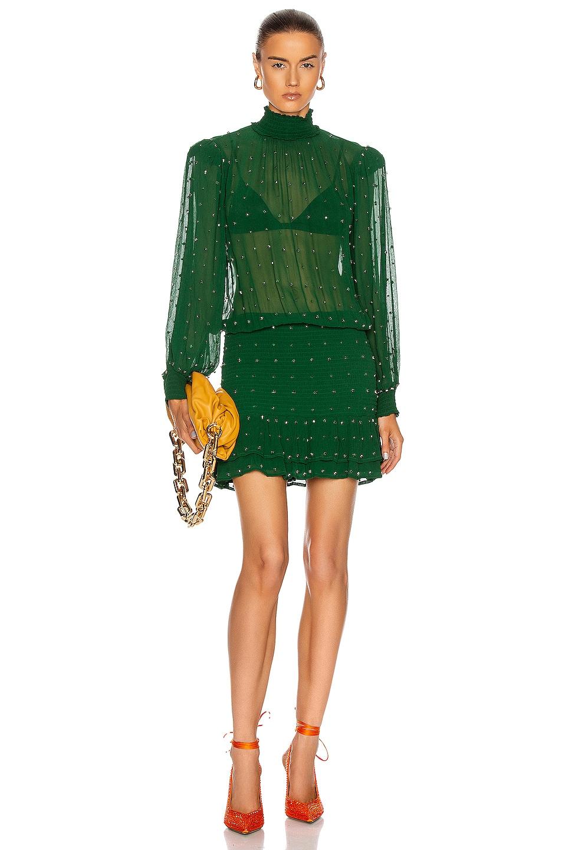 Image 1 of retrofete Hedy Dress in Green