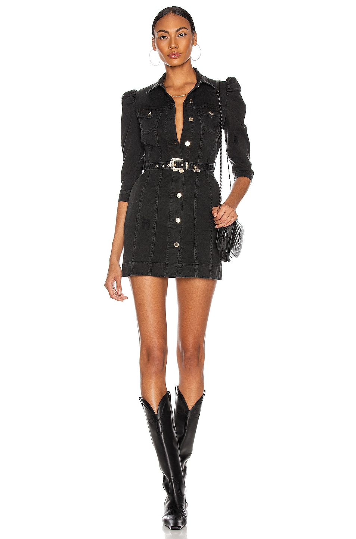 Image 1 of retrofete Lema Dress in Jet Black