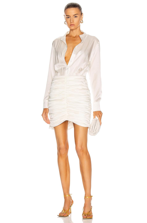 Image 1 of retrofete Natalia Dress in White