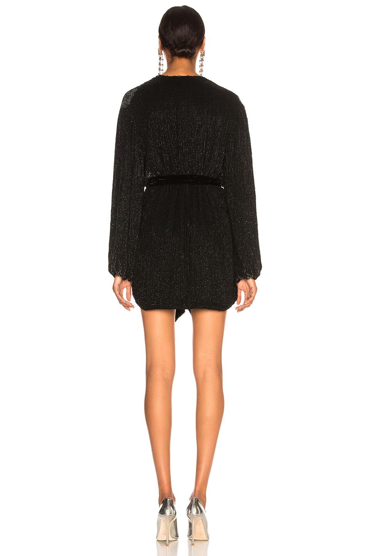 Image 4 of retrofete Gabrielle Robe Dress in Black