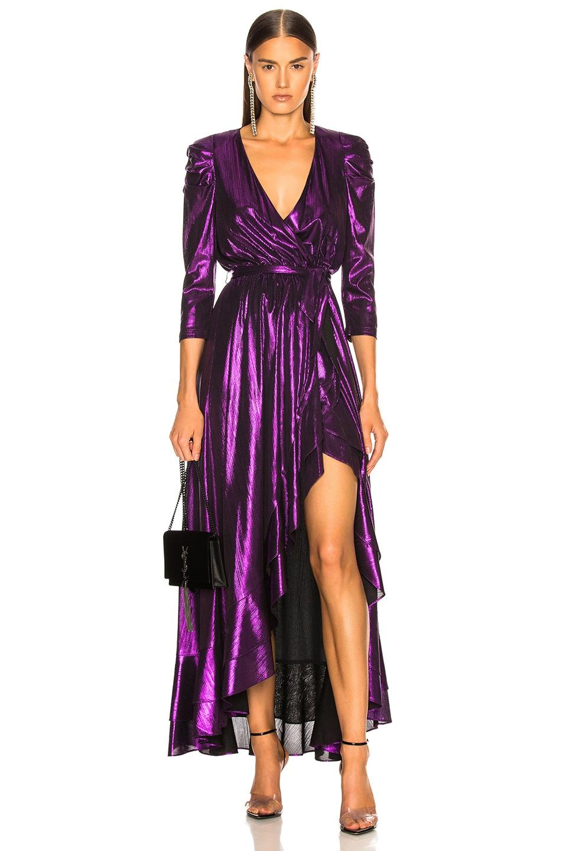 Image 1 of retrofete Flora Dress in Purple