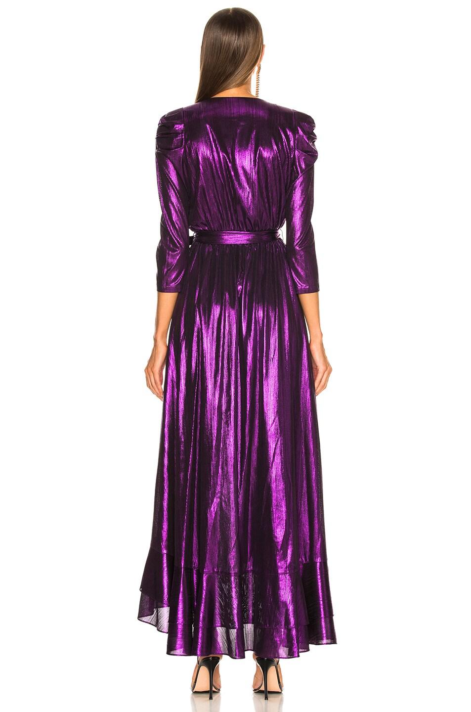 Image 4 of retrofete Flora Dress in Purple