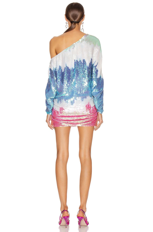 Image 4 of retrofete Yasmin Dress in Unicorn Dip Dye