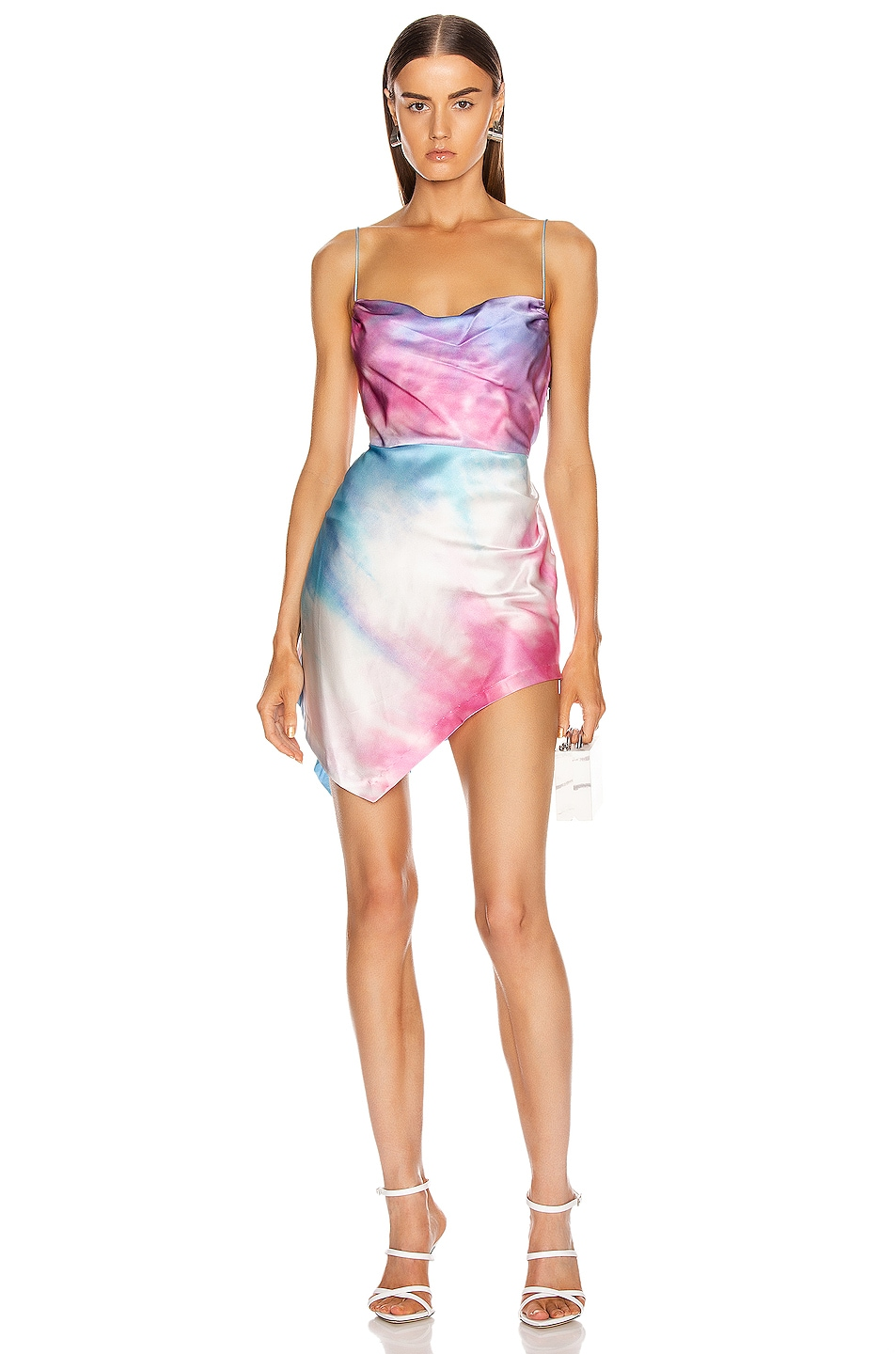 Image 1 of retrofete Auris Dress in Tie Dye
