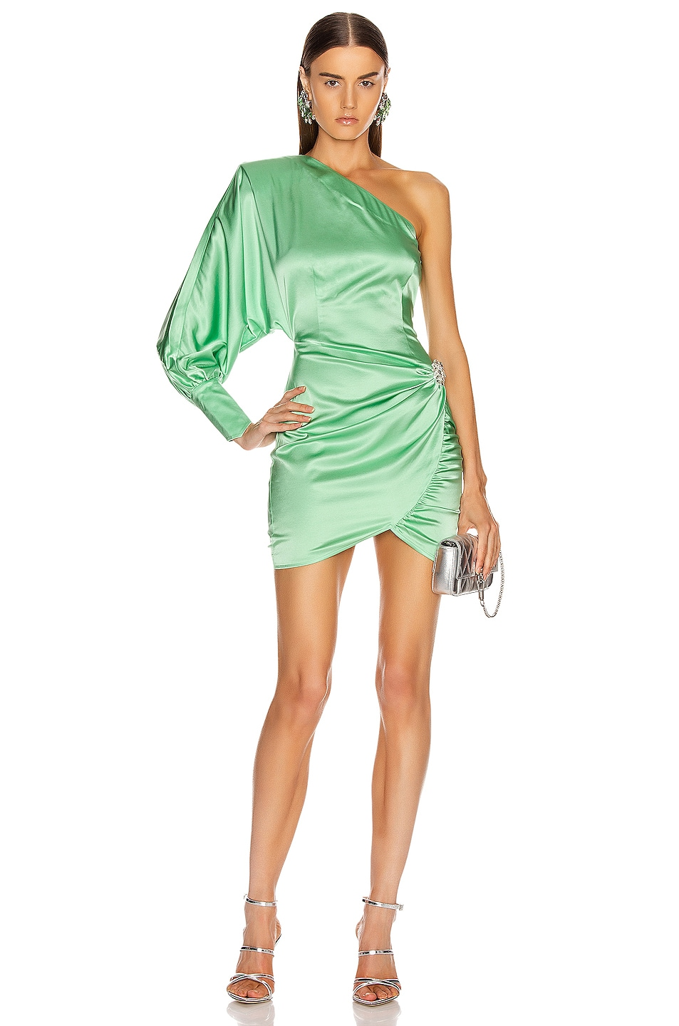 Image 1 of retrofete Drisana Dress in Mint