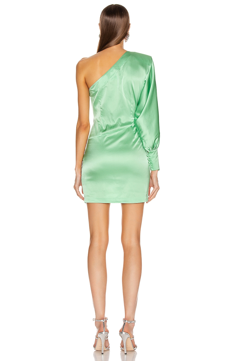 Image 4 of retrofete Drisana Dress in Mint