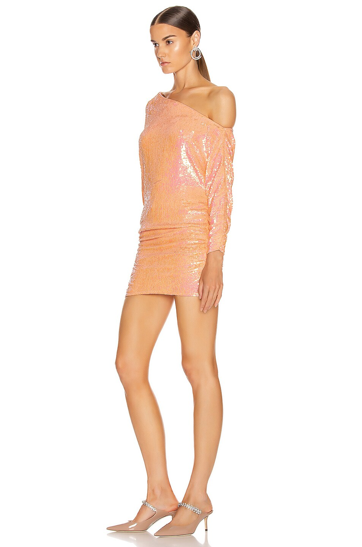 Image 3 of retrofete Yasmin Dress in Grapefruit