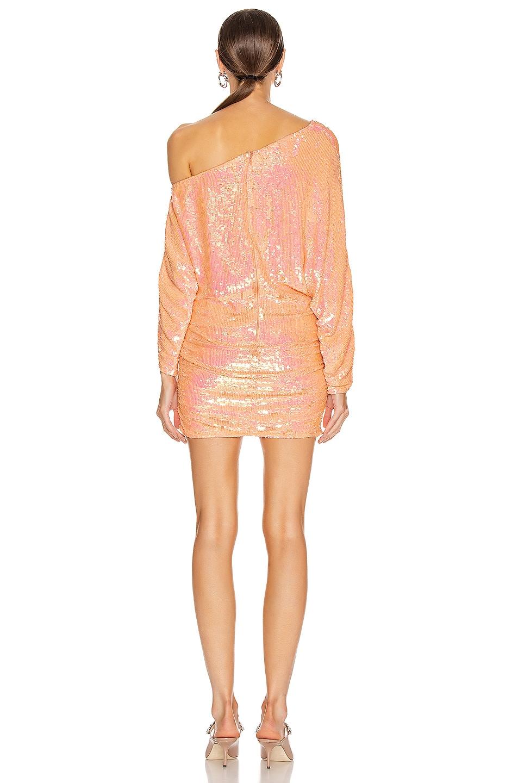 Image 4 of retrofete Yasmin Dress in Grapefruit