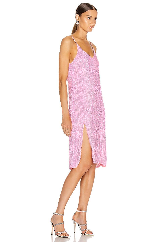 Image 2 of retrofete Denisa Dress in Unicorn Pink